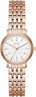 DKNY Womens Analogue Quartz Watch with Stainless-Steel Strap NY2511