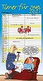Uli Stein – Timer für zwei 2021: Monatskalender für die Wand