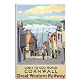 ASFGH Cornwall Vintage-Poster, Motiv: Great Western