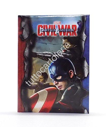Agenda scolaire Captain America Civil War (français non garanti)