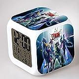 HUA5D DespertadorDigital Zelda Regalos Y Niñas Despertador Infantil...