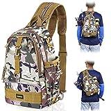 PLUSINNO Fishing Tackle Backpack Storage Bag,Outdoor Shoulder Backpack,Fishing Gear Bag,Water-Resistant Fishing Backpack