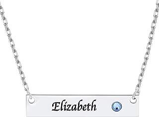Best unique name necklace designs Reviews