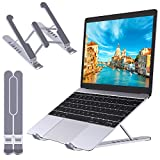 "STOON Laptop Stand, Portable Laptop Stand for Desk, 6-Levels Adjustable Ventilated Cooling Computer Notebook Stand Riser, Compatible with MacBook Air Pro, Lenovo, Dell and More 10-15.6"" Laptops"