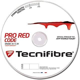 Tecnifibre Pro Red Code 16 (1.30mm) Tennis String 200M/660ft Reel