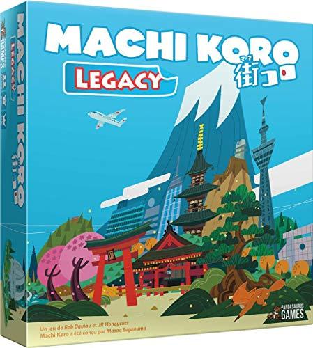 Pandasaurus Games Machi Koro Legacy - Versión francesa