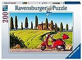 Ravensburger Puzzle 13318 - Beautiful Toscany - 200 Teile Puzzle für Erwachsene und Kinder ab 14 Jahren [Exklusiv bei Amazon]