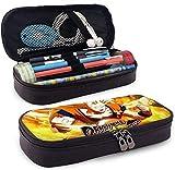 Dragon-Ball Fighte-rz Tragbare Bleistiftkugelschreiber-Tasche für Schul- und Büromaterial