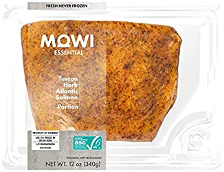 MOWI Essential Fresh Tuscan Herb Atlantic Salmon Portion 12 Oz