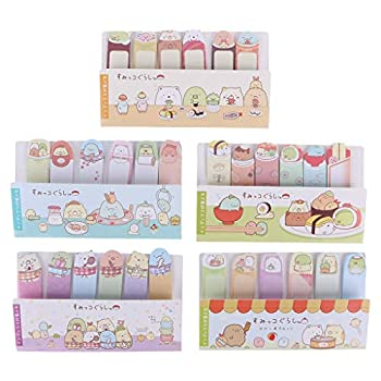 Kawaii Stationery Memo Pad Bookmark Creative Cute Animal Sticky Notes School Supplies Paper Sticker