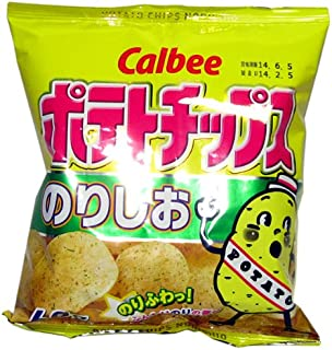 Poteto chips Nori shio (seaweed & salt) East Japan 60gx12