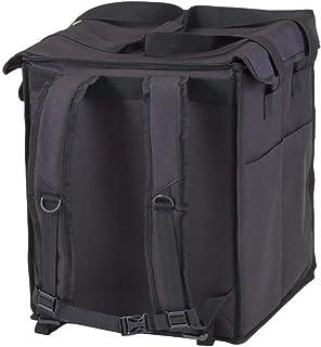 Cambro GBBP151417 Mochila Grande Plegable para Delivery, Poliéster con Revestimiento de Espuma, Negro, 38,1 x 35,5 x 43,2 cm