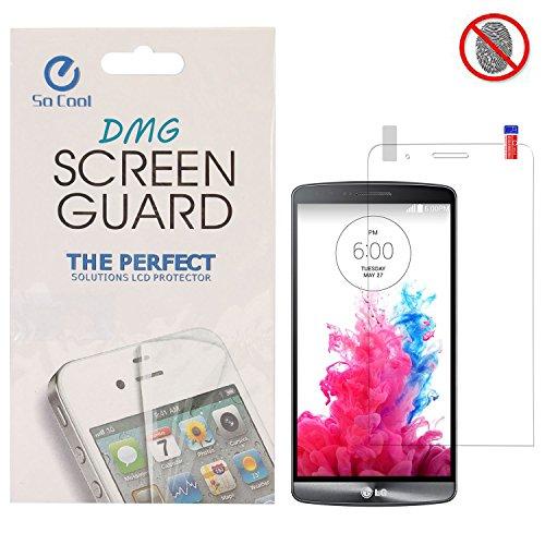 DMG SoCool Screen Protector for LG G3 Stylus D690 (Pack of 2 Matte Anti Glare Anti Fingerprint Scratch Guard)