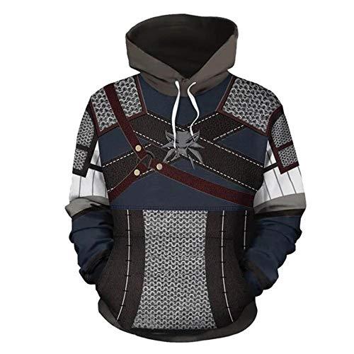 The Witcher Serie Hoodies 3D Digital Printing Pullover Copsplay Anime Sweater Zipper Jacken Mit Kapuze Sweatshirts A-4XL