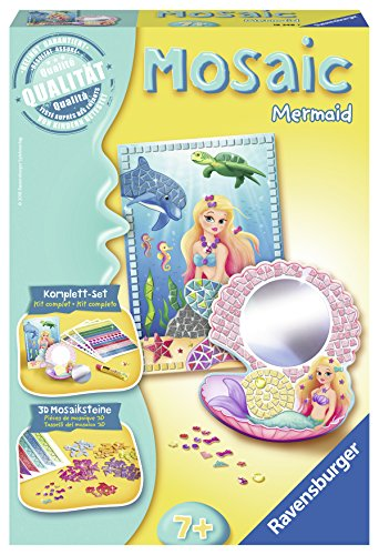 Ravensburger  18348 - Mosaic Mermaid