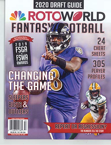 ROTOWORLD FANTASY FOOTBALL MAGAZINE - 2020 DRAFT GUIDE - CHANGING THE GAME