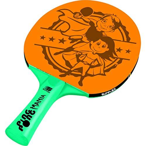 sunflex sport Unisex Raqueta de Tenis de Mesa Ping Pong