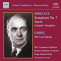Sibelius:Symphony No 7/Pohjola