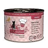catz finefood Ragout N° 603 Gans & Pute Katzenfutter nass - Feinkost Nassfutter für Katzen in Sauce ohne Getreide und Zucker mit hohem...