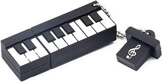 REFURBISHHOUSE PVC Usb 2.0フラッシュドライブペンドライブ ペンドライブUsb フラッシュドライブサムドライブ ミニピアノ(8Gb)