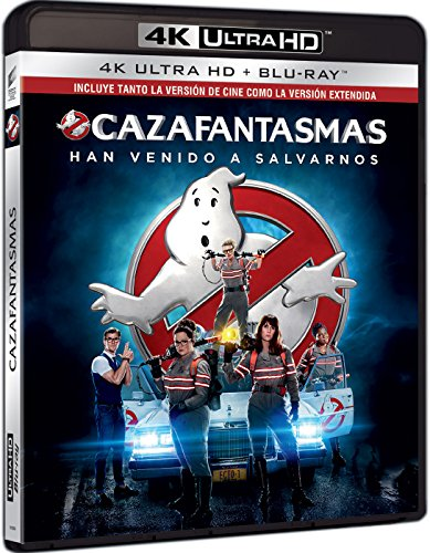 Cazafantasmas 2016 (4K Ultra HD) [Blu-ray]