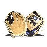 Wilson A1000 1787 11.75' Baseball Glove (Wbw1001351175) H Web Blonde/Black 11.