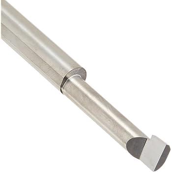 2 Overall Length BB-160900SG 3//16 Shank Diameter 0.160 Minimum Bore Diameter TiN Coated 0.900 Maximum Bore Depth 0.040 Projection No Cutting Radius Micro 100 Solid Carbide Tool Right Hand Boring Tool