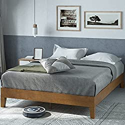 Zinus Deluxe Wood Platform Bed