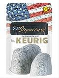 Keurig 2.0 Wasserfilter 1 Jahr Vorrat 6 Premium Keurig Filter Universal Fit für Keurig Kaffeemaschinen Zubehör Nicht Cuisinart kompatibel
