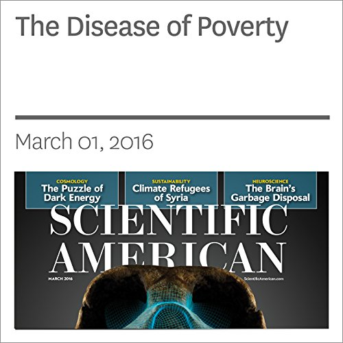 The Disease of Poverty audiobook cover art