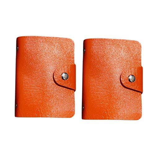 2 Stück Unisex-Kreditkartenhalter aus...