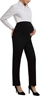 Bhome Maternity Jeans Stretch High Waisted Pants,Dress...