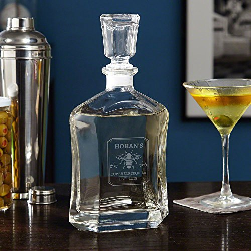 Tequila Master Custom Liquor Decanter (Personalized Product)