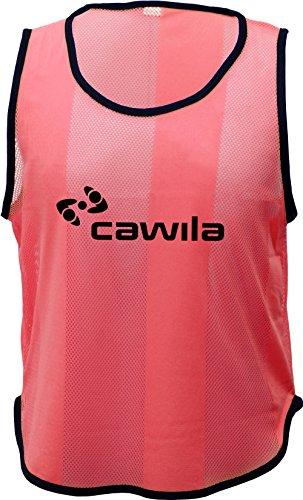 Cawila Kennzeichnungshemd Trainingsleibchen, Rot, Junior
