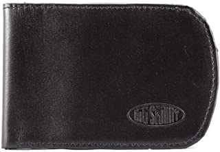 Men's Curve Leather Bi-Fold Slim Wallet, Holds Up to 20 Cards