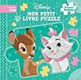 DISNEY - Mon Petit Livre Puzzle - 5 puzzles 9 pièces - Bébés animaux