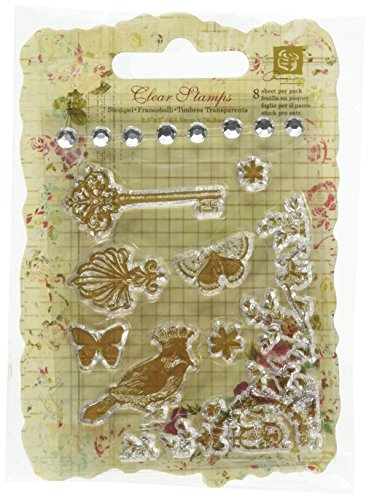Prima Marketing Clear Stamps - Madeline