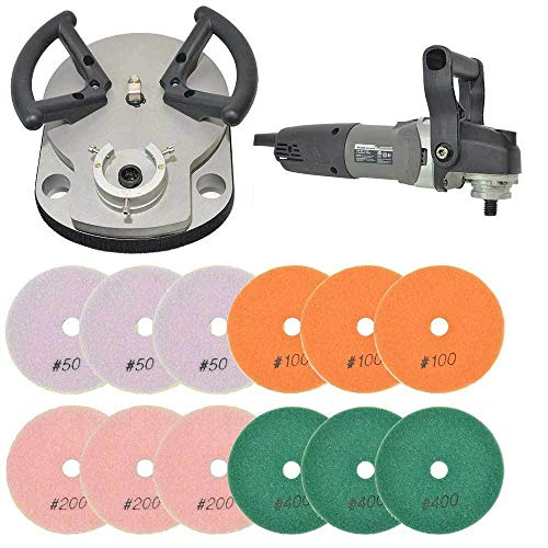 """Equipment and Tools for You"" Triad Planetary Polisher and Diamond polishing Pads - BRTTRIAD12 asd-1-7-12280"
