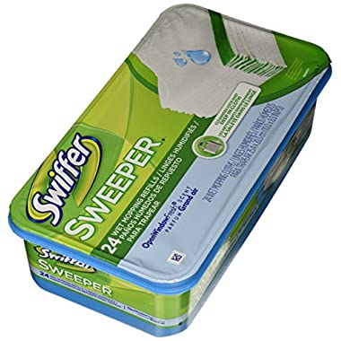 Swiffer PG-3231 Sweeper Wet Mopping Cloth Refill - Open Window Fresh - 24 ct