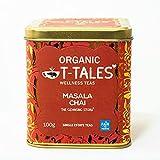 Organic T-Tales - Té negro ecológico en lata de 100g (Masala Chai - THE CLEANSING STORY)
