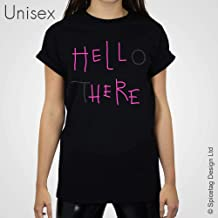 Hell Here T-shirt Pink Neon Sign Hello There Tshirt Film Movie Top Unisex Mens Womens Slogan Returns Black Tee Michelle Cat Kyle 1992