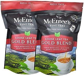 McEntee's Irish Loose Leaf Gold Blend Tea (2 stuks) - Zakjes van 250 g - vakkundig gemengd in Ierland om die perfecte kop ...