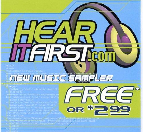 Hear It First.com New Music Sampler (UK Import)