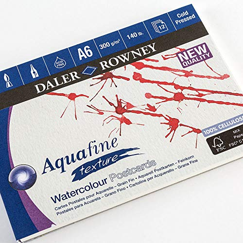 Aquafine Bloc Postal Acuarela A6 300G/M² 12H