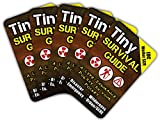 """Tiny Survival Guide: A Life Insurance Policy in Your Pocket - The Ultimate """"Survive Anything"""" Everyday Carry: Emergency, Disaster Preparedness Micro-Guide, 5-Pack"""
