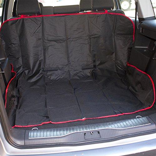 Babz BZ04/018 2-in-1 Kofferraumwanne und Autositzbezug, ideal für Haustiere, schwarz