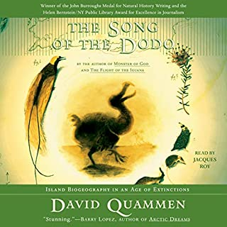 The Song of the Dodo audiobook cover art