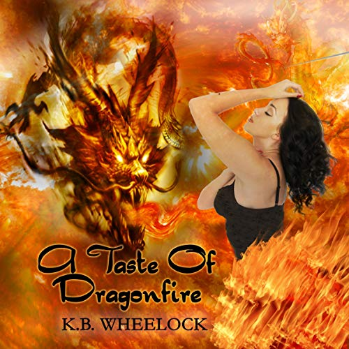 A Taste of Dragonfire audiobook cover art