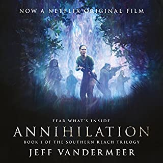 Annihilation     Southern Reach Trilogy, Book 1              De :                                                                                                                                 Jeff VanderMeer                               Lu par :                                                                                                                                 Carolyn McCormick                      Durée : 6 h     8 notations     Global 4,4