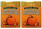 Trader Joe's GLUTEN FREE Pumpkin Bread & Muffin Baking Mix ( 2 PACK)